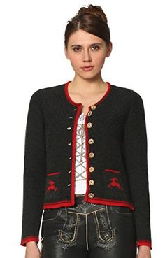 #Wiesn #Oktoberfest #Stockerpoint #Trachten #Strickjacke #Laura #anthra, #Gr…