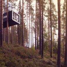 tree hotel lapland sweden