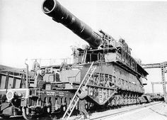 German Dora 800mm canon. BIG !