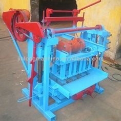 QTJ4-45 small concrete block machine  1.low cost for small business  2.easy operate  3.ISO9001-2008  http://www.batchcrete.com.au/