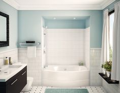 Explore more deeply about Bathroom Ideas Black and White Tub Alcove Aker Shower 36 Awesome Alcove Bathtub Ideas. Update on January 19, 2018.