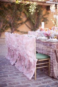 Ruffled-Chair-Covers