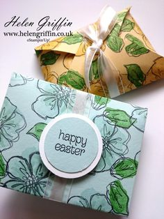 Today's project is a quick and easy make and is especially good if you have a few to make. These little treat pouches are perfect for giving to friends, family and colleagues. 3d Craft, Wooden Coasters, Envelope Punch Board, Easter Treats, 3d Projects, Packaging Ideas, Gift Boxes, Craft Items, Gift Wrap