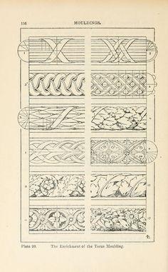 #4, silk metal threads & pearls  Archive.org A handbook of ornament;