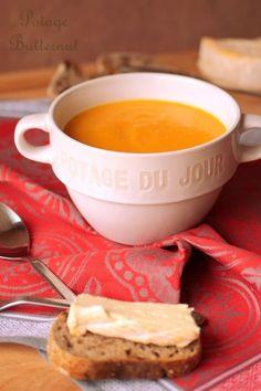 Velouté de courge butternut (potage) · Aux délices du palais Recipe Images, Love Food, Soup Recipes, Food And Drink, Nutrition, Cooking, Ethnic Recipes, Desserts, Quiches