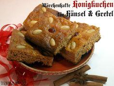 Schönes Mitbringsel & gebackenes Weihnachtsgeschenk - Lebkuchen aus Grimms Märchen: Honigkuchen für Hänsel und Gretel