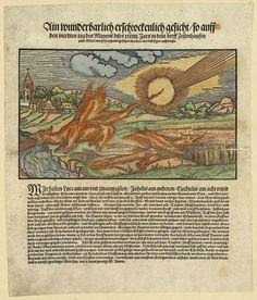 Ain wunderbarlich erschrockenlich gesicht so... in dem Dorff Zessenhausen ... gesehen [Jakob Cammerlander] [1543]