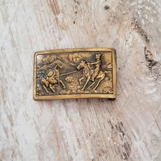 """Antique Brass Nautical Compass Buckle fits up to 1-1//2/"""" Belt strap 38mm"""
