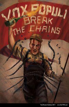 Bioshock Infinite Vox Populi by PaulRomanMartinez Bioshock Quotes, Bioshock 1, Bioshock Series, Bioshock Infinite, Columbia Bioshock, Irrational Games, Very Best Quotes, Vox Populi, Videogames