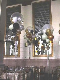 Not a huge fan of balloons, but a few of these would make a huge impact on the gym decor, and even better, inexpensive!