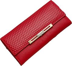 T.acction Genuine Leather Women Bifold Clutch Long Snake Pattern Wallet Purse Rose Red T.ACCTION http://www.amazon.com/dp/B00N3FBK44/ref=cm_sw_r_pi_dp_GuBbvb1QW43M0
