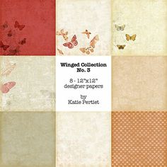 Winged Collection No. 03 Paper Pack