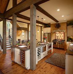 Kitchen. Architect: Johnson Architecture.