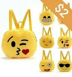 Mochila de Emoji