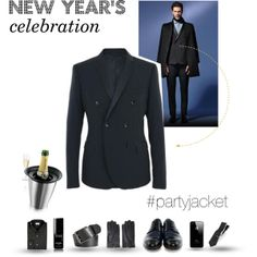 """Party jacket 'cause it's time to party! - New year's celebration"" by tonello-collections on Polyvore"