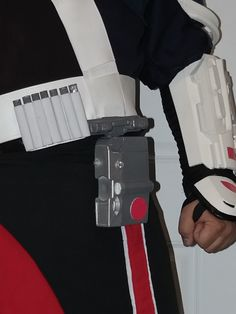 Chirrut cosplay parts mounted