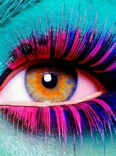 #abstrato  #surreal ☆ * #Arte #Ilustração * #Olhos #Visão ☆ #PorTodosÂngulos ☆ #Rainbow *