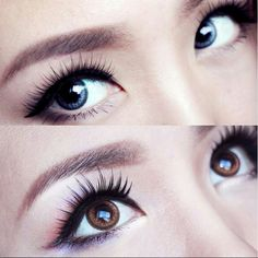 LiliSimply from Youtube wearing AngelContacts.com GEO OL Circle Lens