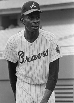 In August 1969, the owner of the Atlanta Braves, William Bartholomay, signed [Satchel] Paige to a contract running through the 1969 season—supposedly as a pitching coach, although it was mainly done so that Paige could gain service time to receive a major league pension. Paige did most of his coaching from his living room in Kansas City, but he did pitch in at least one pre-season exhibition game in April 1969, striking out Hank Aaron and Don Drysdale [at age 62].