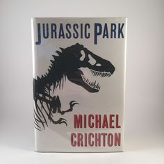 VG Jurassic Park by Michael Crichton 1990 Hardcover 1st Edition 2nd Printing 0394588169 | eBay