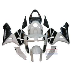 Aftermarket Fairings For Honda CBR600RR 05-06 White Black  ABS Kits 2005 2006