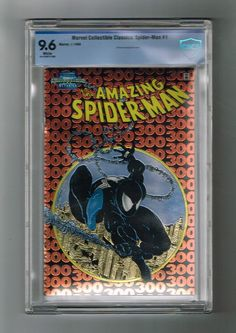 MARVEL COLLECTIBLE CLASSICS: SPIDER-MAN #1 Rare chromium wrap-around! CBCS 9.6  http://www.ebay.com/itm/-/292018506177?roken=cUgayN&soutkn=nLR0oL