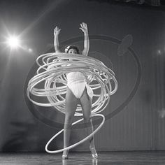 so many hula hoops!