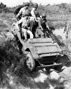 "Jeep.  The name came from the abbreviation ""G.P."" for general purpose vehicle."