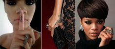 rihanna hands tattoo Los tatuajes de Rihanna