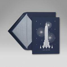 New York Christmas Card - Smythson