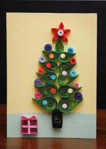 How to Make Quilling Christmas Tree