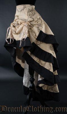 Map Layer Bustle Skirt