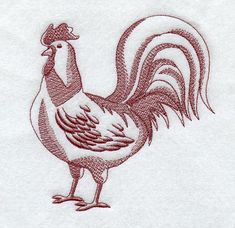 Rooster (Toile) G2007
