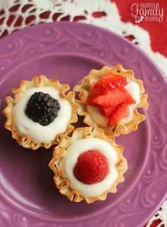 Easy Phyllo Fruit Cups