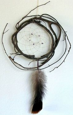 Authentic Cherokee Indian Dream catchers made with Grape Vines