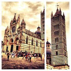 Photo from the Instacanvas gallery for ilaria_agostini. Siena Duomo, Tuscany, Italy