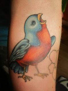 very cute bird, love by the eye