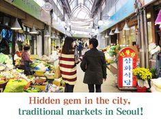 #korea traditional markets in Seoul