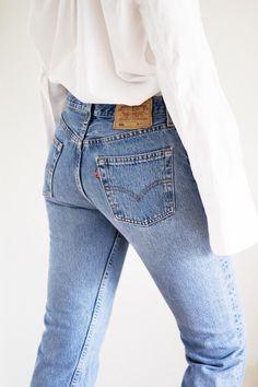 00b58426 Fashion Gone Rouge, Vintage Levi Jeans, Vintage Levis, Vintage High Waisted  Jeans,