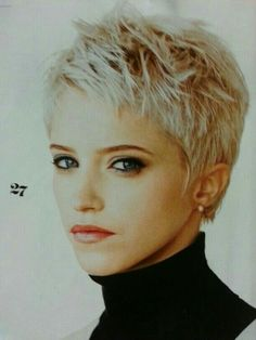 YES!  I love the edgy feel of this cut...bangs would have to be just a pinch longer.