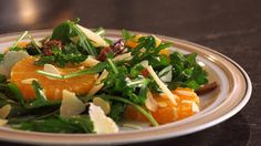 Everyone loves a salad who  packs a flavor punch! This Arugula salad has a combination of greens, citrus and cheese to deliver a truly unique recipe! In this episode of Eating by Heart, Colombe shares one of her favorite salad recipes that makes this starter the star of your meal. All you need is arugula, blood oranges, mint, dates, almonds, Parmesan cheese, and a nice olive oil. At HealthiNation, our mission is to help and inspire people to live healthy and active lifestyl...