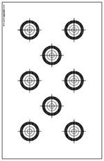 Smallbore 22 Caliber Rifle Targets Download and Print 11 x 17