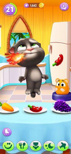 Mi Talking Tom 2 en App Store Talking Tom Cat 2, Ipod Touch, Butterfly Wallpaper Iphone, Emoji Wallpaper, Ipad, Tom Games, Disney Art Style, Im App, Pets