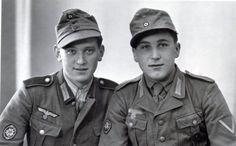 Two members of german mountain troops.