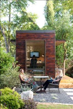 Modern Backyard Office/Work Space