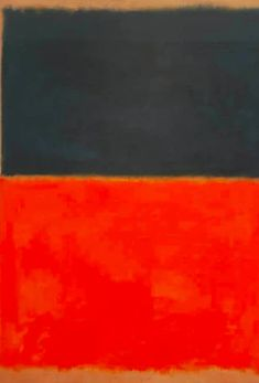 Top 10 Most Famous Paintings by Mark Rothko - Wanderlust Mark Rothko Paintings, Rothko Art, Old Paintings, Original Paintings, Abstract Paintings, Abstract Art, Most Famous Paintings, Still Life Photography, Wedding Photography