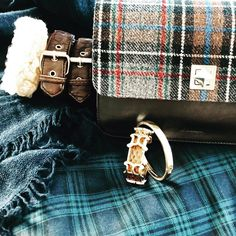 De Marquet - Raffaella Iten Metzger : of the day consists of a lot of plaid & cashmere. We are especially loving her choice of bracelets and her Night&Day with a tartan cover. Tartan, Plaid, Day For Night, Love Her, Cashmere, Thanksgiving, Michael Kors, Cover, Bracelets