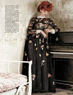 'Misia' Codie Young by Giampaolo Sgura for Vogue Germany October 2013 [Editorial] - Fashion Copious