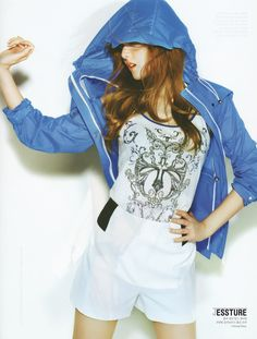 [SCAN] ELLEgirl (Korea) June 2012 #Jessica #SNSD