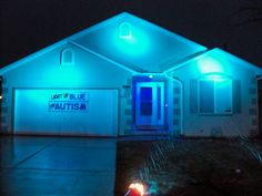 Don't forget to change your light bulbs to blue! You can find ones for inside and outside your home @Home Depot: http://thd.co/1h0RBkH. #LIUB